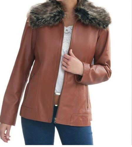da 1x Plus Fur Xl 2x Faux pelle 100 vera Giacca invernale donna Church 3x w5CTwqP