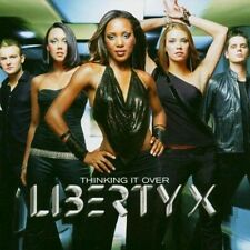 MUSIC CD LIBERTY X THINKING IT OVER L@@K MINT CONDITION JUST A LITTLE DOIN IT..*