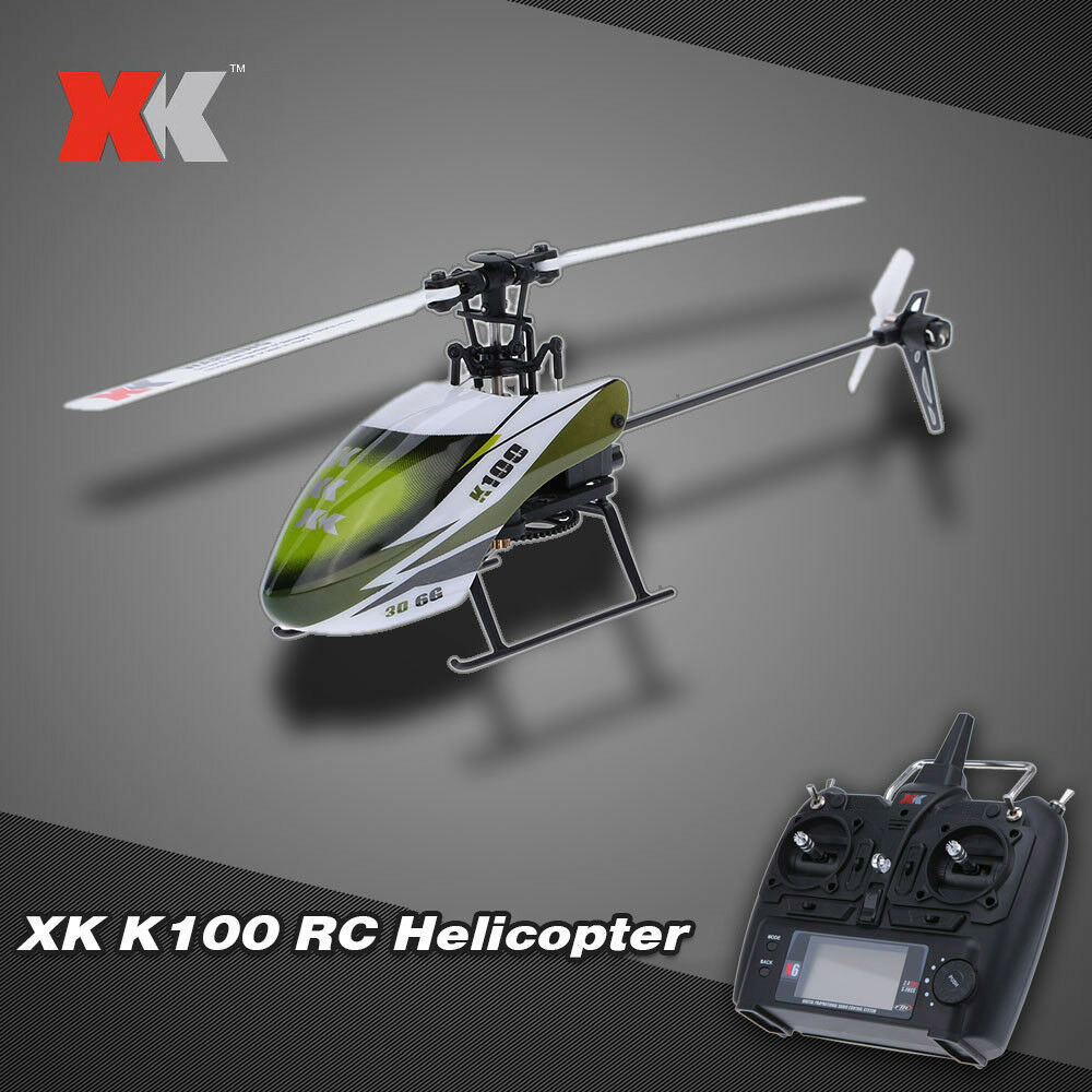 Original XK Falcon K100 6CH 3D 6G System RTF RC Helicopter T6W5