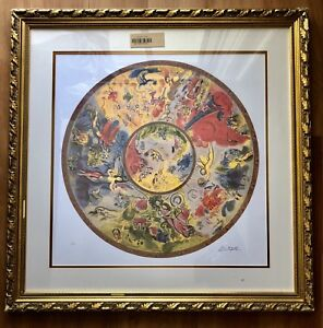 Image Is Loading Marc Chagall Paris Opera Ceiling 194 500 Plate