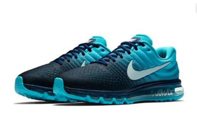 Size 10.5 - Nike Air Max 2017 Binary Blue - 849559-404