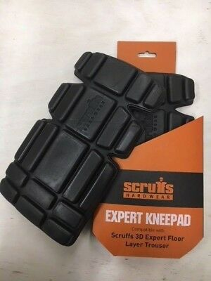 Scruffs Expert Knee Pads for Flooring Professionals T52347 Longer Length SAVERS