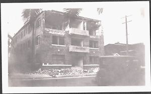 Details about 1933 COMPTON LONG BEACH CALIFORNIA EARTHQUAKE DICKENS  APARTMENTS BUILDING PHOTO