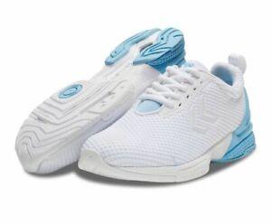 Hummel Training aerocharge Fusion Stz W indoorschuhe Femmes Blanc Bleu