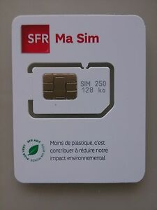 carte nano sim sfr carte sim prépayee sfr neuve 10e de crédit | eBay