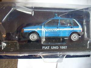 FIAT UNO 1987 POLIZIA SCALA 1\43