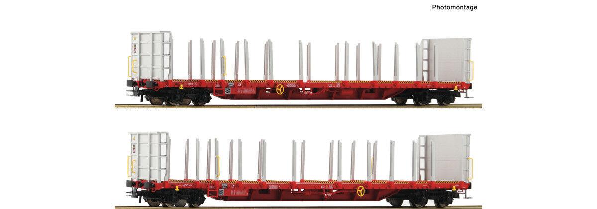 Roco 76142, 2tlg. rungenwagen set, RCW, nuevo y en su embalaje original, h0