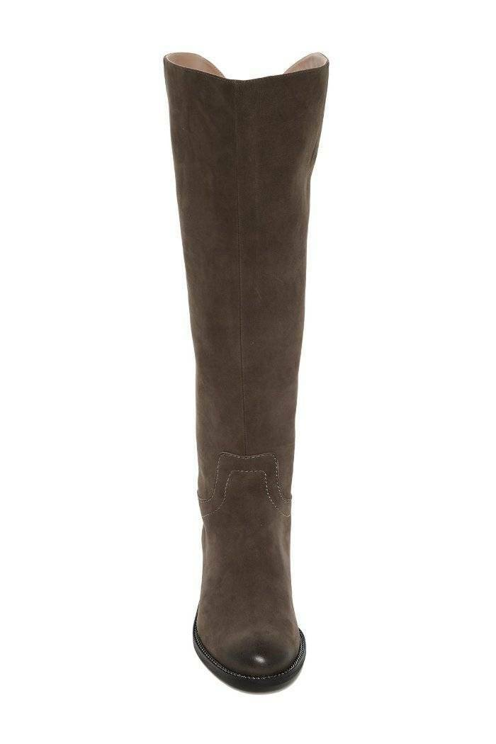 Franco Sarto 'Brenna' 'Brenna' 'Brenna' la rodilla botas altas gamuza SETA (Taupe gris) 6  225  ahorra hasta un 50%