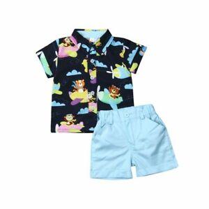 Bee Kidz® Camisas Pantalón Sets Ropa de Bebe Para Niño Conjuntos de Moda Niños