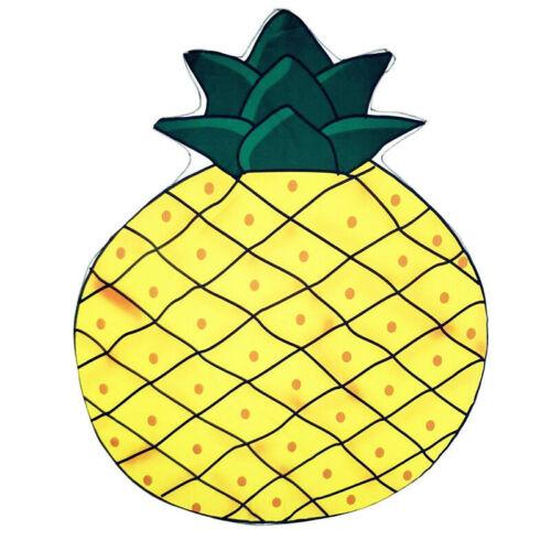 Fruit Food 3D Pattern Printed Pool Shower Beach Chiffon Sunscreen Shawl Scarfs