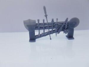 Heroquest weapon rack râtelier armes