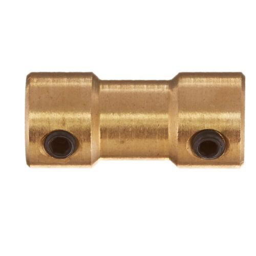 RC Airplane 2mm 3mm Brass Motor Coupling Shaft Coupler Verbinder BAF