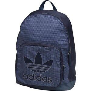 d4785882d1 Image is loading adidas-Originals-Mens-Trefoil-Team-Backpack -Collegiate-Navy-