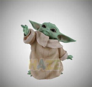 Movie-Star-Wars-The-Force-Awakens-Baby-Yoda-4-034-PVC-Action-Figure-Model-Toy-Gift