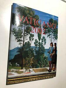 2002-Vaticano-Libro-Folder-Album-Ufficiale-Completo-Yearbook-Vatican-Complete