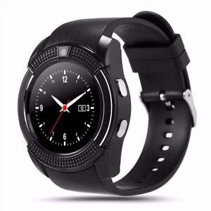 Premium-SmartWatch-V8-Bluetooth-Uhr-SONY-XPERIA-XZ1-COMPACT-SIM-Android-8-Farben