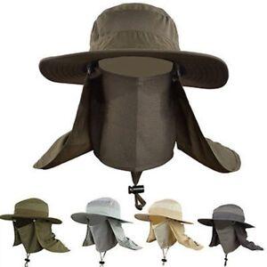 Outdoor-Unisex-Brim-Sun-Block-Quick-Drying-Fishing-Sun-Cap-Climbing-Bucket-Hat