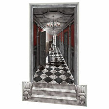 Halloween Haunted Mansion Party Scene Setter Add-on Kit Gothic Hallway