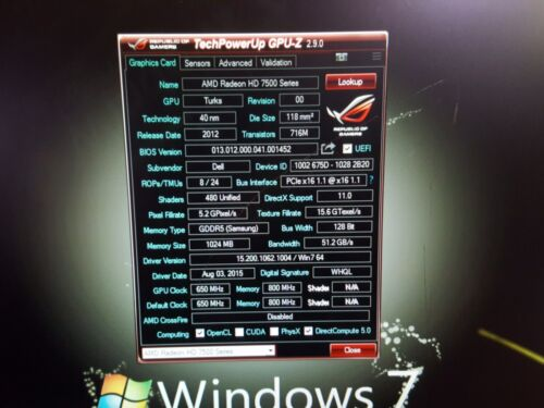 HDMI Adapter DELL OPTIPLEX 745 755 760 780 790 Tower 1GB 128-Bit Video Card