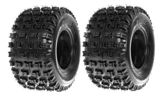 20x11x9 TRX 450 TERACHE ATV QUAD REAR TYRE TIRE HONDA PAIR T FORCE XC ENDURO