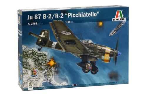 Italeri 2769-1//48 WWII Dt Neu Junkers Ju-87 B-2//R-2 Stuka Picchiatello