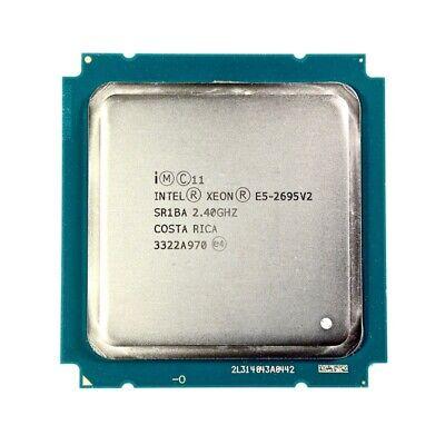 * Intel Xeon E5-2695 V2 2.40 Ghz Sr1ba 12-core Oem | Garanzia & Iva 19% *-