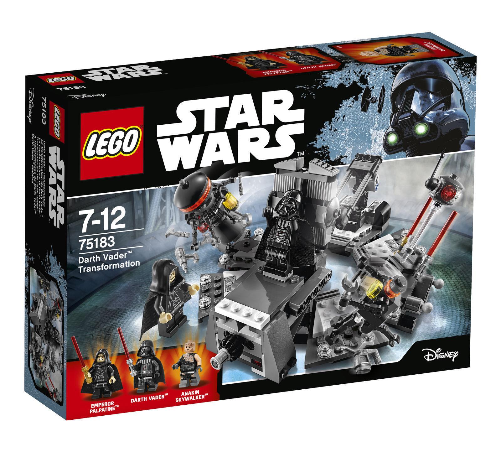 LEGO Estrella Guerras Darth Vader TRASFORMAZIONE 2017 Set 75183