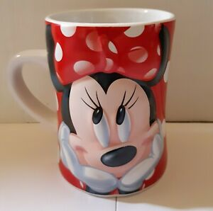 Disney-Minnie-Mouse-Collectable-3D-ceramic-mug-Tea-Coffee-Feeling-Fabulous-10cm