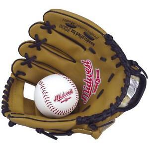 Midwest-Junior-Baseball-Catchers-Mitt-Catcher-Glove-Ball-Set