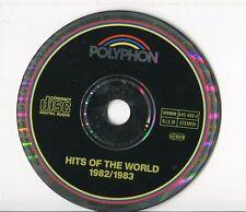 Polyphon cd sampler HITS 1982/83  ABBA Ryan Paris IMAGINATION FALCO Donna Summer