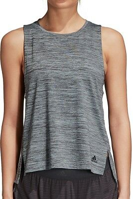 Pflichtbewusst Adidas Boxy Light Womens Training Vest Tank Top - Grey 100% Original