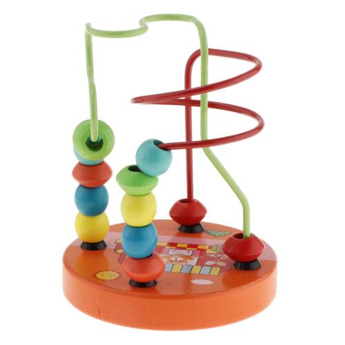 Motorikschleife Holzspielzeug Kinderspielzeug Lernspielzeug für Junge und