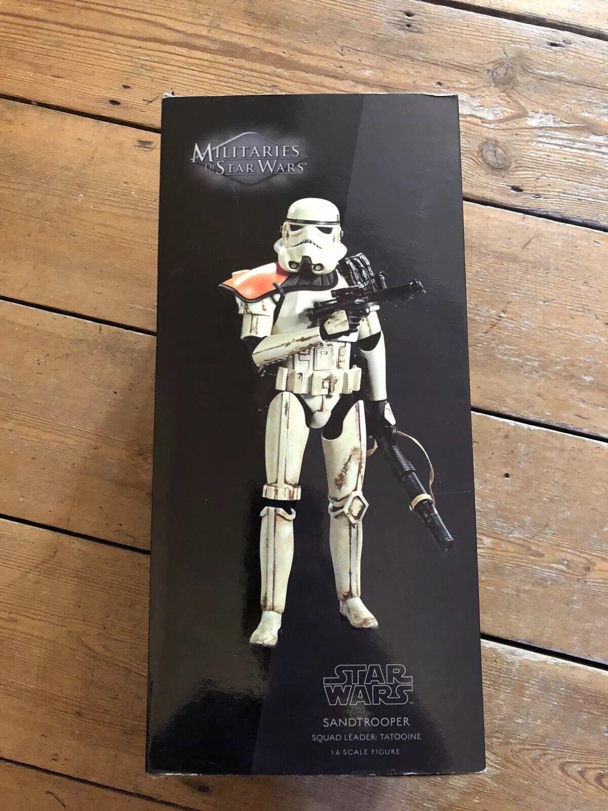 Sideshow Star Wars Wars Wars Militaries Of Star Wars Sandtrooper  Squad Leader Tattoo 1100 a818d4