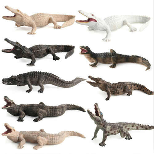 Crocodile Simulation Animal Model Action /& Toy Figures Collection Kids Gift