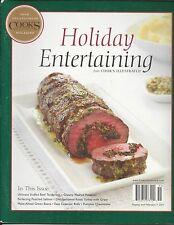 Cooks Holiday Entertaining magazine Beef tenderloin Potatoes Pumpkin cheesecake