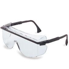 Uvex S2500C-01 Astro 3001 Safety Glasses Worn Over Prescription Glasses