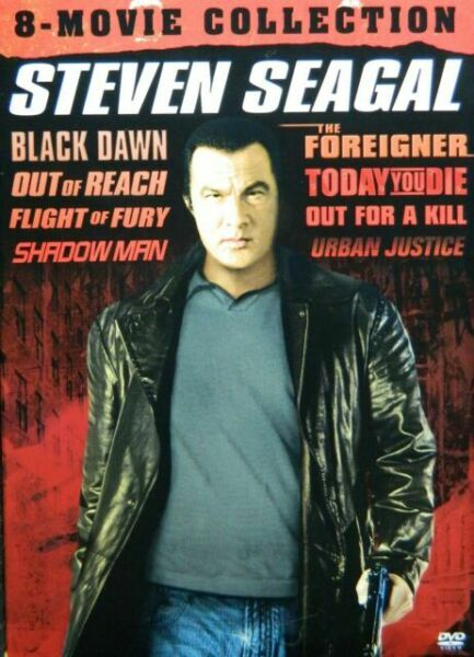 Steven Seagal: 8-Movie Collection (DVD, 2017, 4-Disc Set ...