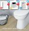 thumbnail 13 - Bathroom-Bundle-500WC-Unit-Toilet-Pan-amp-Seat-Concealed-Cistern-Vanity-Unit