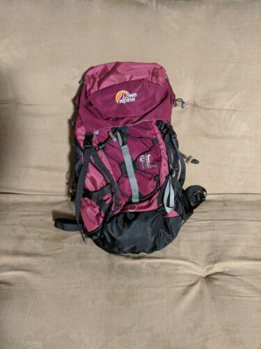 Lowe Alpine /& Deuter 33+10 Internal Frame Backpacks 65+10 Liters 45+10