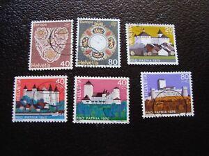 Switzerland-Stamp-Yvert-and-Tellier-N-1003-A-1008-Obl-A2-Switzerland-R