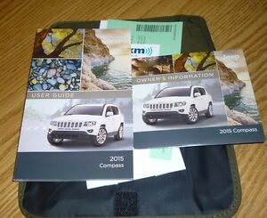 2015 jeep compass user guide owners manual set 15 dvd w case sport rh ebay com 2014 jeep compass user manual 2011 jeep compass user manual