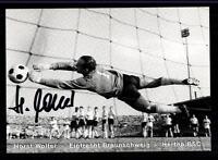 Horst Wolter Autogrammkarte Hertha BSC Berlin Original Signiert + A 72650