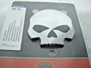 Harley Davidson Skull Totenkopf Tankdeckel chrom 61100125A