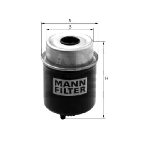 MANN Kraftstofffilter JOHN Deere 6010 SE 6110 6210 6310 6310SE 6410 6310L
