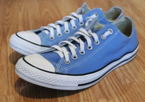 Converse All Star Blue Men's 10 Women's size 12