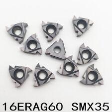 16ERAG55 SMX35 55°  Carbide thread insert for Steel stainless steel 10pcs