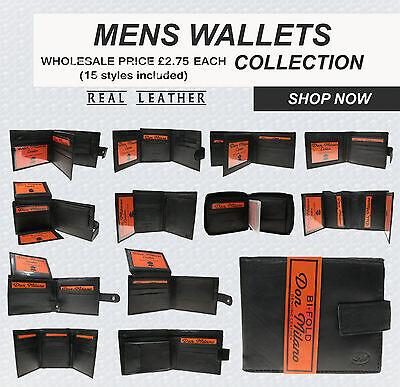 Devoto Best Deal Of 15 Mix Styles Wholesale Job Lot Of Brand Leather Wallets Uk Seller