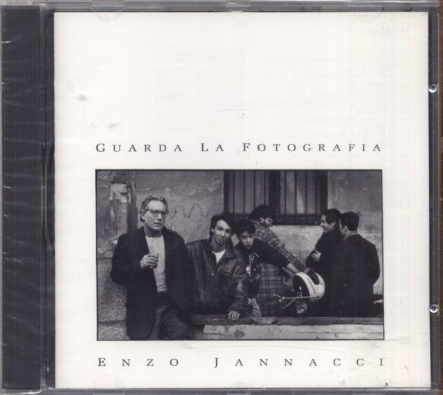 ENZO JANNACCI - Guarda la fotografia - GIORGIO GABER CD SIGILLATO SEALED
