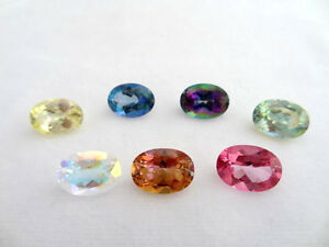 Loose-14x10mm-Oval-Mystic-Topaz-7-Colors-Available