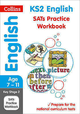 KS2 English SATs Practice Workbook. 2019 Tests by Collins KS2 (Paperback book, 2